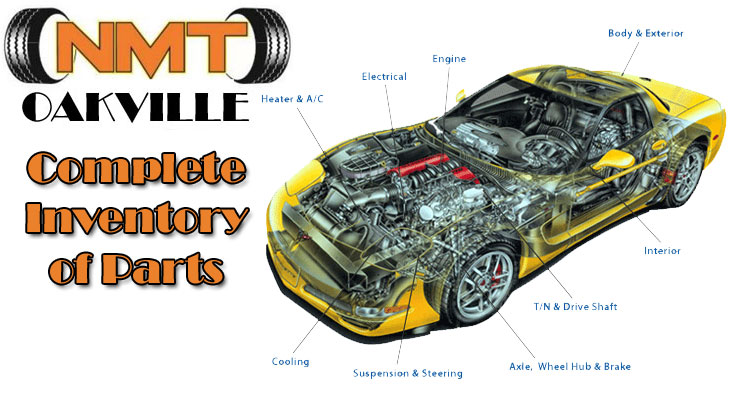 nmt oakville car parts